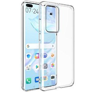 Huawei P40 Pro IMAK UX-5 Series Fleksibelt Plastdeksel - Gjennomsiktigt