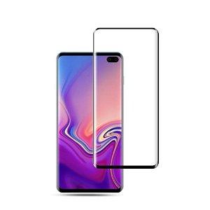 Samsung Galaxy S10 Plus Herdet Glass m. Svarte Kanter