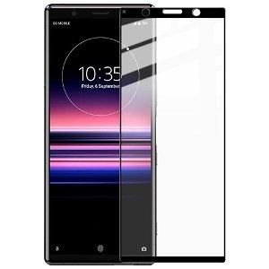 IMAK Sony Xperia 5 Herdet Glass - Full Fit - Svart