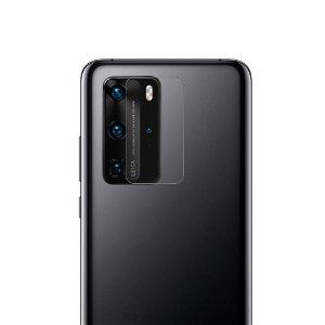 Huawei P40 Pro Beskyttelsesglass til Kameraobjektiv - Gjennomsiktig