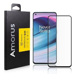 AMORUS OnePlus Nord CE (5G) Skjermbeskytter - Herdet glass - Full Fit - Svart