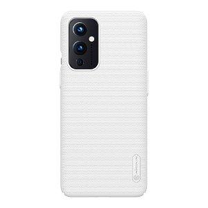 OnePlus 9 NILLKIN Frosted Shield Deksel m. Stativ - Hvit