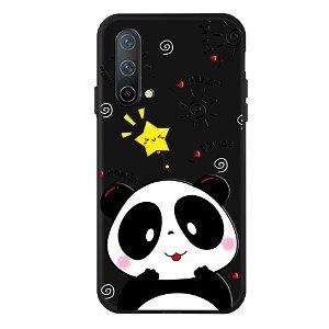 OnePlus Nord CE (5G) Fleksibel Plast Bakdeksel - Søt Panda