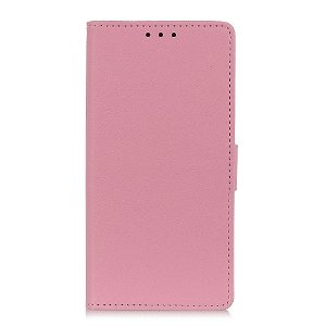 OnePlus Nord 2 (5G) Enkelt PU Skinn Deksel med Lommebok - Rosa