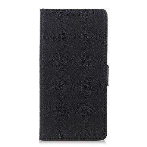 OnePlus Nord 2 (5G) Enkelt PU Skinn Deksel med Lommebok - Svart