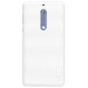 Nokia 5 NILLKIN Shield Deksel inkl. Fleksibel Skjermbeskytter Hvit