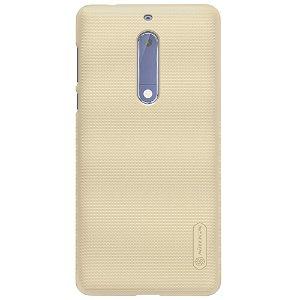 Nokia 5 NILLKIN Shield Deksel inkl. Fleksibel Skjermbeskytter Gull