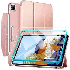 iPad Pro 11 (2021) ESR Ascend Tri Fold Flip Cover - Rose Gold
