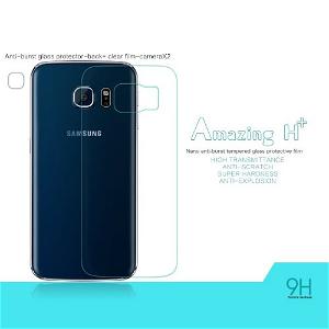 Samsung Galaxy S6 Edge NILLKIN Amazing+ Herdet Glass til Bakside