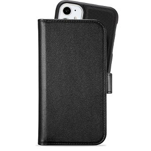 Holdit iPhone 11 Extended Magnet Case Skinndeksel med Lommebok - Svart