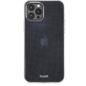 Holdit iPhone 12 / 12 Pro Soft Touch Deksel - Gjennomsiktig