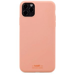Holdit iPhone 11 Pro Max Soft Touch Silikon Deksel - Pink Peach