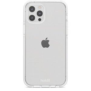 Holdit iPhone 12 / 12 Pro Seethru Deksel - Hvit