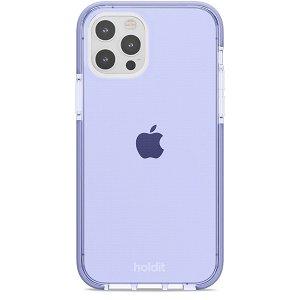 Holdit iPhone 12 / 12 Pro Seethru Deksel - Lavender
