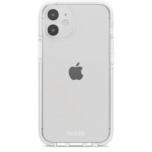 Holdit iPhone 12 Mini Seethru Deksel - Hvit