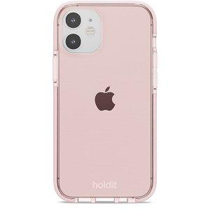 Holdit iPhone 12 Mini Seethru Deksel - Blush Pink
