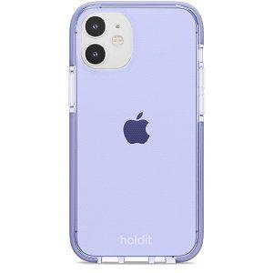Holdit iPhone 12 Mini Seethru Deksel - Lavender
