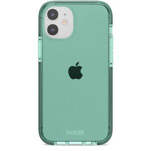 Holdit iPhone 12 Mini Seethru Deksel - Moss Green