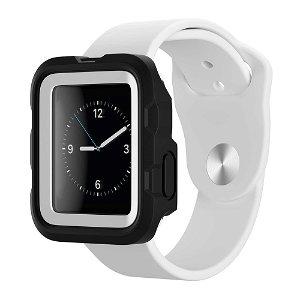 Apple Watch (38mm) Griffin Survivor Tactical Deksel - Svart / Hvit
