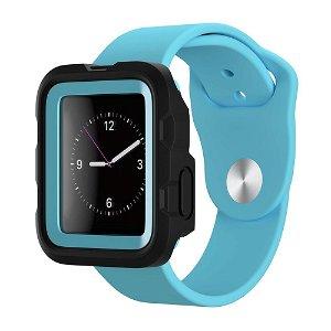 Apple Watch (42mm) Griffin Survivor Tactical Deksel - Svart / Blå