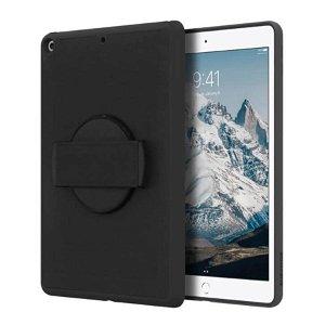 "iPad 10.2"" (2021 / 2020 / 2019) Griffin AirStrap Rotating Deksel - Svart"