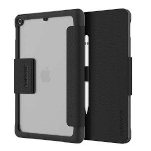 "iPad 10.2"" (2021 / 2020 / 2019) Griffin Survivor Tactical Deksel - Svart"