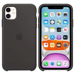 Original iPhone 11 Silikondeksel Svart (MWVU2ZM/A)