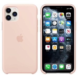 Original iPhone 11 Pro Silicone Case Pink Sand (MWYM2ZM/A)
