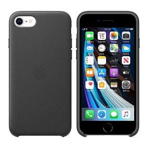 Original Apple iPhone SE (2020) Skinndeksel Svart (MXYM2ZM/A)