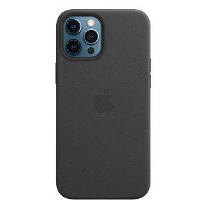 Original Apple iPhone 12 Pro Max Skinn MagSafe Deksel Svart (MHKM3ZM/A)