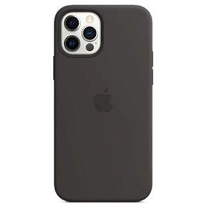 Original Apple iPhone 12 | 12 Pro Silikon MagSafe Deksel Svart (MHL73ZM/A)