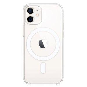 Original Apple iPhone 12 Mini Clear MagSafe Deksel Gjennomsiktig (MHLL3ZM/A)