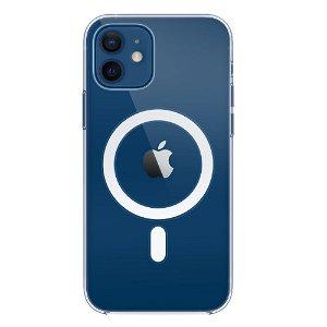 Original Apple iPhone 12 | 12 Pro Clear MagSafe Deksel Gjennomsiktig (MHLM3ZM/A)