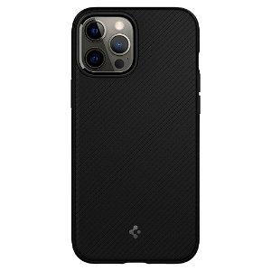 iPhone 12 Pro Max Spigen Mag Armor Deksel - MagSafe Kompatibel - Matte Black