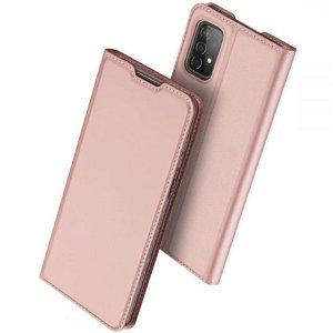 Samsung Galaxy A52s (5G) / A52 (4G / 5G) DUX DUCIS Skin Pro Series Skinn Flip Deksel - Rosa