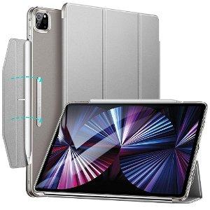 iPad Pro 11 (2021/2020/2018) ESR Ascend Tri-Fold Deksel - Grå