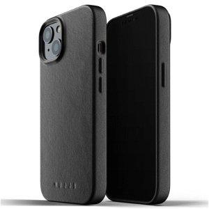 Mujjo iPhone 13 Vegan Leather Deksel - Svart