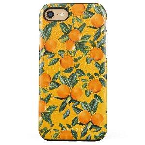 Burga iPhone SE (2020) / 8 / 7 Tough Fashion Deksel - Orange Lemonade