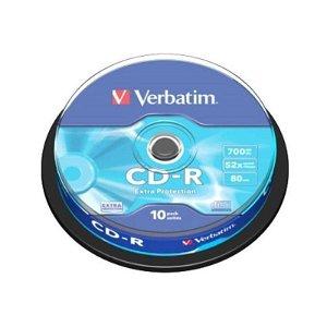 Verbatim CD-Rom 52X Extra Protect med 700 MB - 10 Stk.