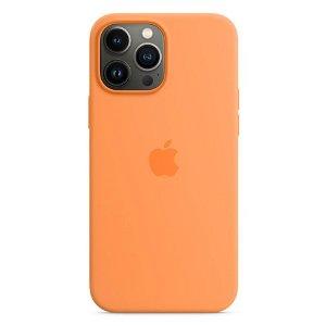 Original Apple iPhone 13 Pro Max Magsafe Silikondeksel Solsikkegul (MM2M3ZM/A)