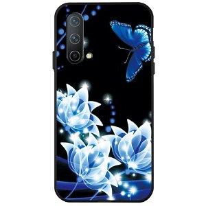 OnePlus Nord CE (5G) Fleksibel Plast Bakdeksel - Fantasy Flowers