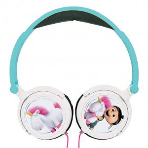"""Lexibook Barne Hodetelefoner On-Ear med """"Grusomme Meg"""" Tema"""