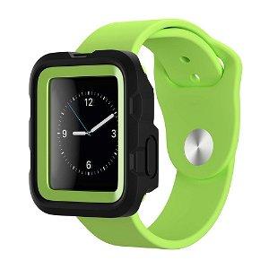 Apple Watch (38mm) Griffin Survivor Tactical Deksel - Svart / Grønn
