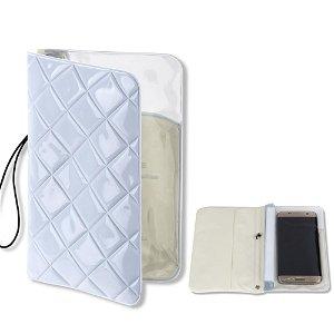4smarts RIMINI Waterproof Vanntett Etui - Hvit (Maks. Mobil: 160 x 80 x 10 mm)