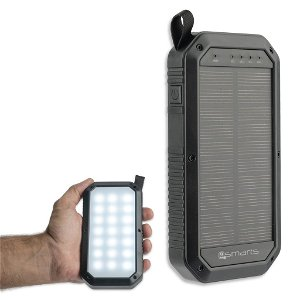 4smarts Solar Power Bank TitanPack 8000mAh Svart