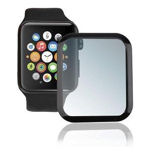 Apple Watch SE / 6 / 5 / 4 (44mm) 4smarts Curved Second Glass Skjermbeskytter - Svart