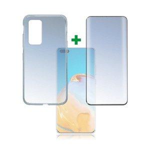 Huawei P40 Pro 4smarts 360⁰ Protection Set Premium Edition (Deksel + Skjermbeskytter)