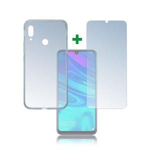 Huawei P Smart (2019) 4smarts 360⁰ Protection Set (Deksel + Herdet Glass)