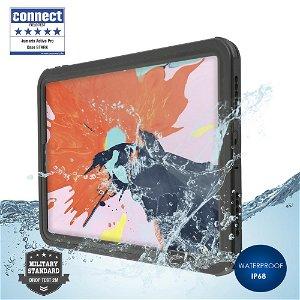 "iPad Pro 11"" 4smarts Rugged Waterproof Case Stark (Vanntett Deksel) - Black"