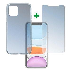 iPhone 11 4smarts 360⁰ Protection Set (Deksel + Skjermbeskytter)